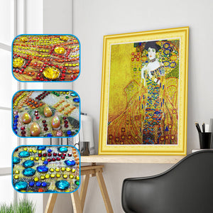 Abstract Lady - 5D Diamond Painting - DIY Kits