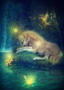 Tranquil Unicorn - 5D Diamond Painting - 5D Diamond Painting - DIY Kits