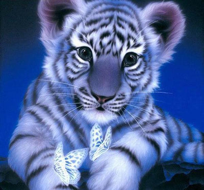 Ethereal Tiger - 5D Diamond Painting - 5D Diamond Painting - DIY Kits