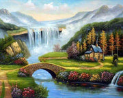 Water Fell - 5D Diamond Painting - 5D Diamond Painting - DIY Kits