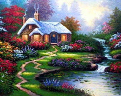 Life On The Meadow - 5D Diamond Painting - 5D Diamond Painting - DIY Kits