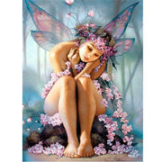 Bored fairy - 5D Diamond Painting - 5D Diamond Painting - DIY Kits