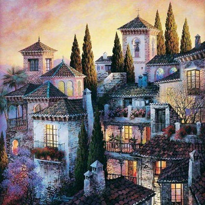 Dusk City - 5D Diamond Painting - 5D Diamond Painting - DIY Kits