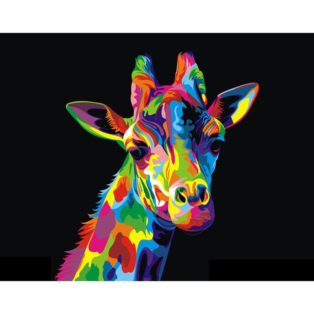 Towering Giraffe - 5D Diamond Painting - 5D Diamond Painting - DIY Kits