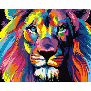 Heart Of A Lion - 5D Diamond Painting - 5D Diamond Painting - DIY Kits