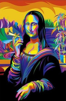Modern Lisa - 5D Diamond Painting - 5D Diamond Painting - DIY Kits