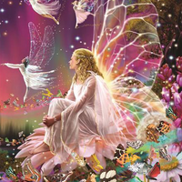 Fairy Escape - 5D Diamond Painting - 5D Diamond Painting - DIY Kits