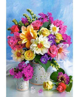 Flowering Saturation - 5D Diamond Painting - 5D Diamond Painting - DIY Kits