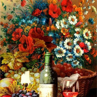Fine Wine - 5D Diamond Painting - 5D Diamond Painting - DIY Kits