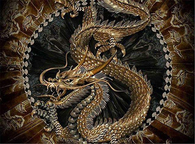 Ancient Dragon - 5D Diamond Painting - 5D Diamond Painting - DIY Kits