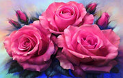 3-Of-A-Kind Rose - 5D Diamond Painting - 5D Diamond Painting - DIY Kits