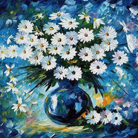 Blues All Daisy - 5D Diamond Painting - 5D Diamond Painting - DIY Kits