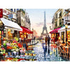Paris France eiffel tower scenery DIY Crystal full drill square 5D diamond painting 3D cross stitch kit mosaic round rhinestone - 5D Diamond Painting - DIY Kits