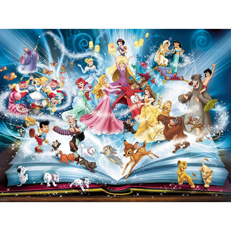 5D Diamond Embroidery Sale fantasy cartoon book Full Square Diamond Painting Cross Stitch Kit Diamond Mosaic Crystal KBL - 5D Diamond Painting - DIY Kits