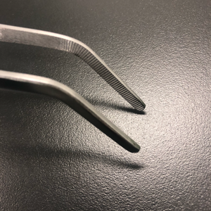 40cm Stainless Steel Curve tip Forcep