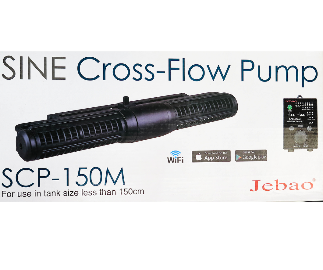 NEW! Jecod Jebao Cross-Flow Pump SCP-150M / Aquarium wavemaker Reef Fresh water controllable nano small aquarium planted WIFI stingray monster fish