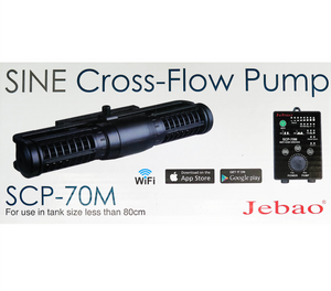NEW! Jecod Jebao Cross-Flow Pump SCP-70M / wake maker Aquarium wave maker Reef Fresh water controllable nano small aquarium planted WIFI