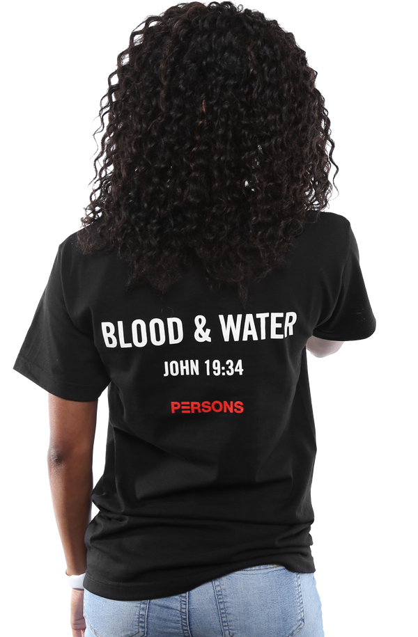 Blood & Water Tee - Black