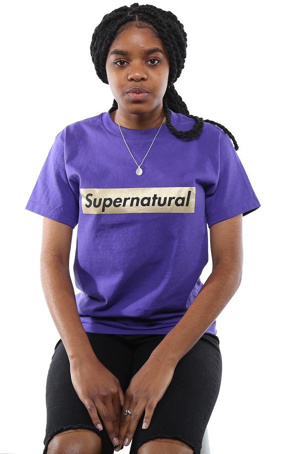 Supernatural Tee - Purple