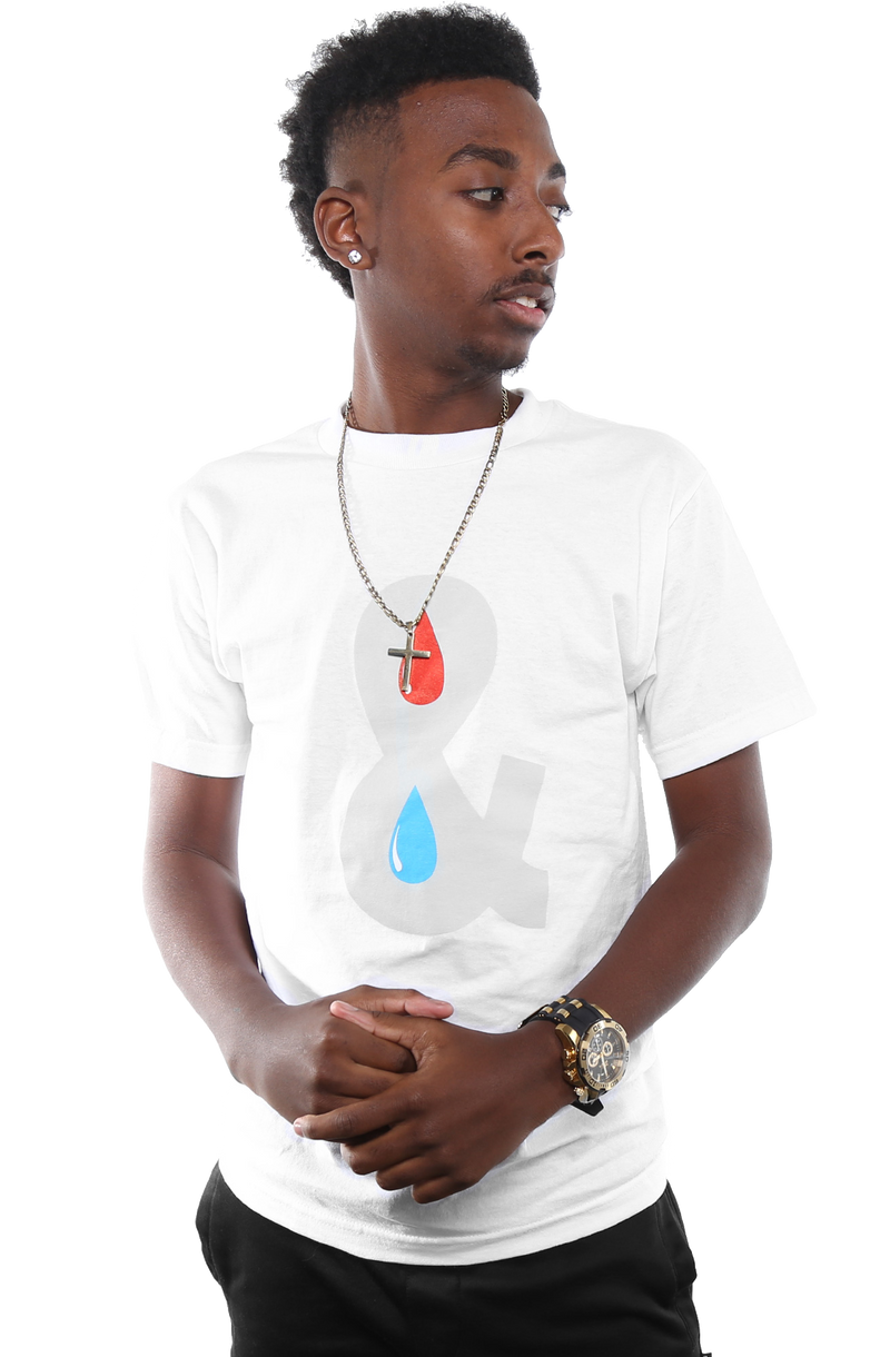 Blood & Water Tee - White