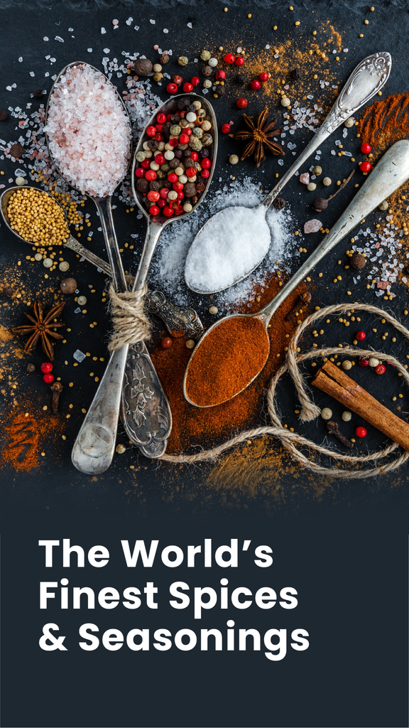 World's Finest Spices & Seasonings: Organic Capers, Paprika, Sea-Salts, Infused Sugars, & More