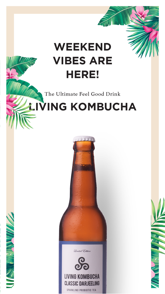 Weekend Vibes with Living Kombucha: Refreshing & Delicious