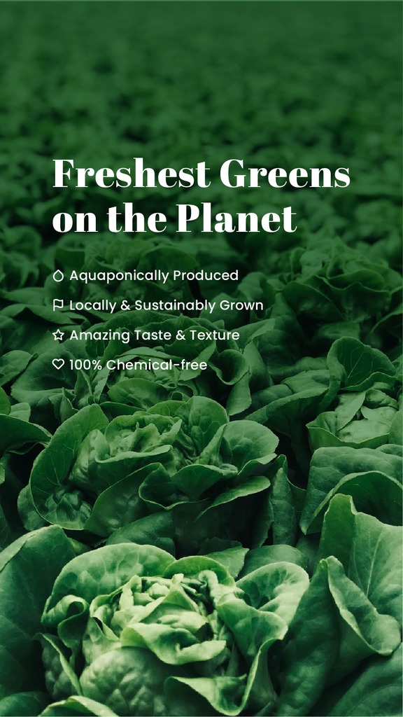 Freshest Greens On The Planet