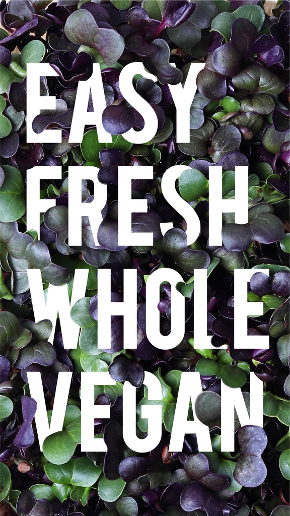 The freshest and healthiest greens in town.