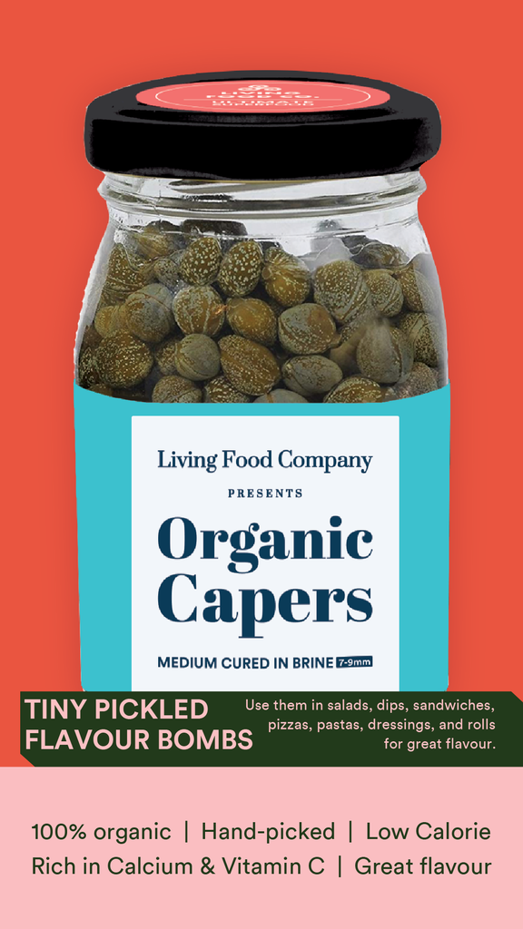 Living Organic Capers