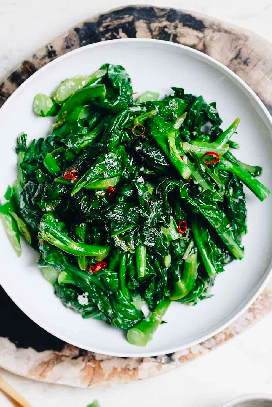 Make amazing Stir Fry with our leafy greens
