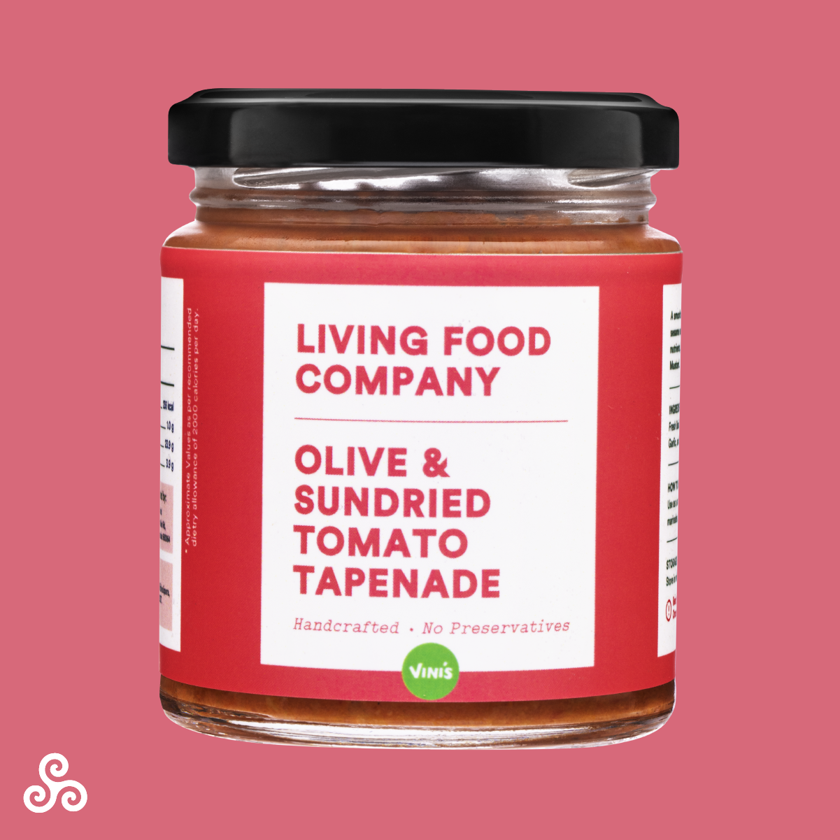 A beautiful spread made with fresh, real olives and premium sun-dried tomatoes for a tangy, umami flavour. Handcrafted with no preservatives, additives or artificial ingredients.