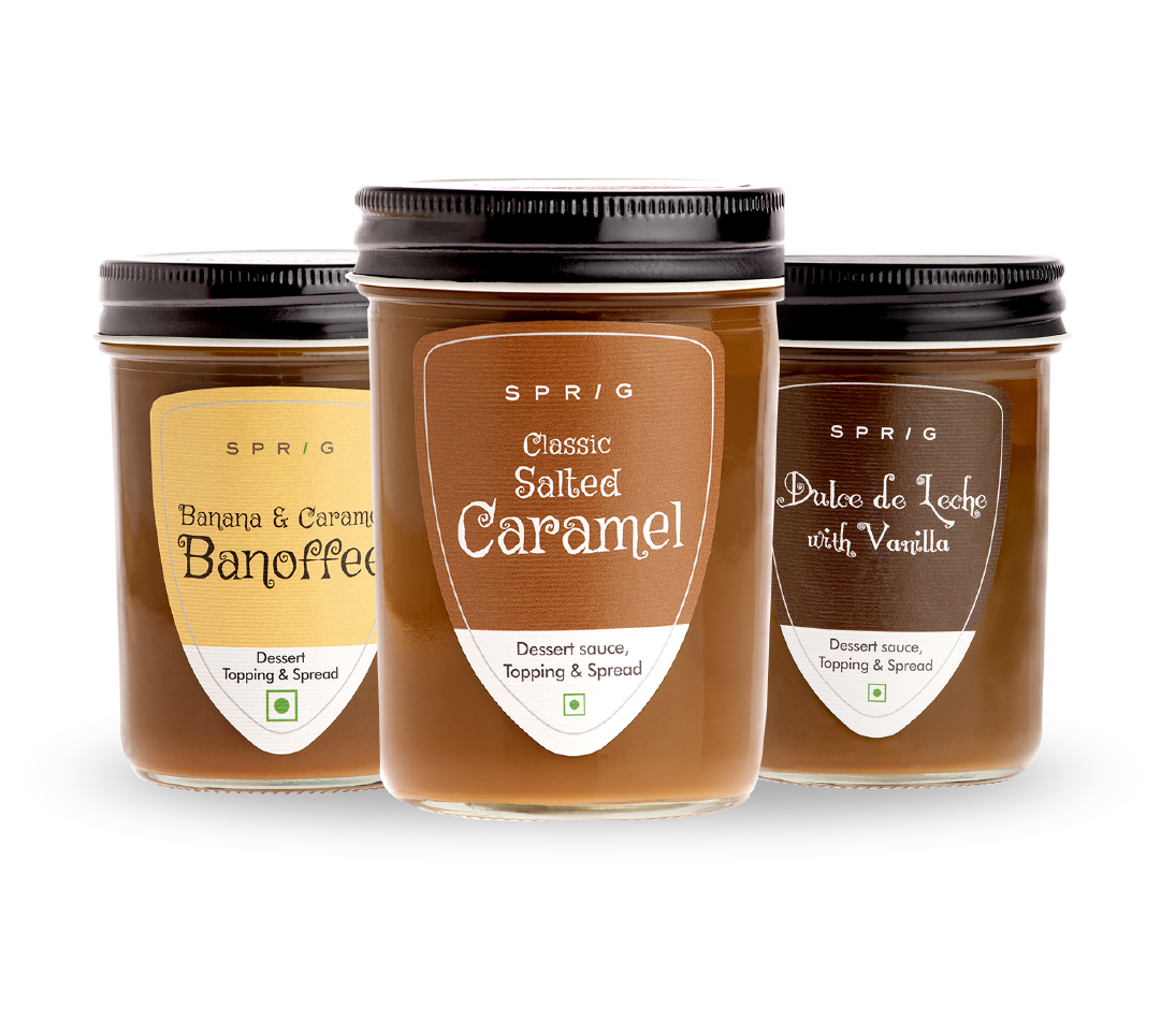premium Dessert sauces, spreads and much more