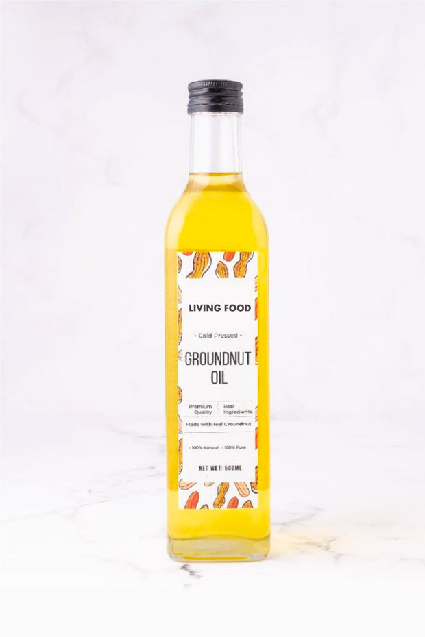 Pure Groundnut Oil (Cold-Pressed & Single-Pressed)
