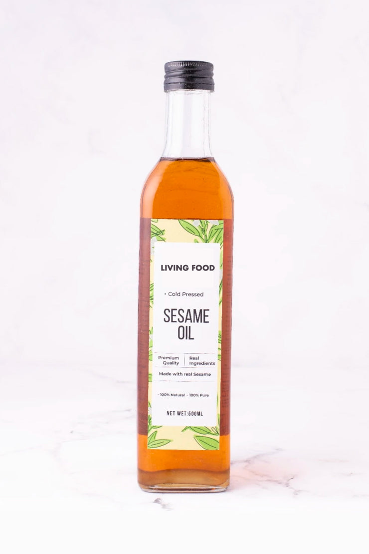 Pure Sesame Oil (Cold-Pressed & Single-Pressed)