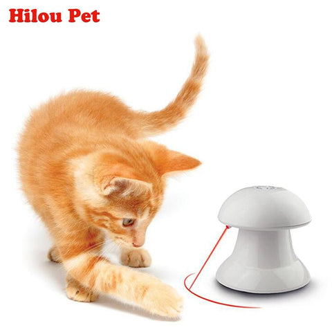 Dancing Laser Robot Cat Toy