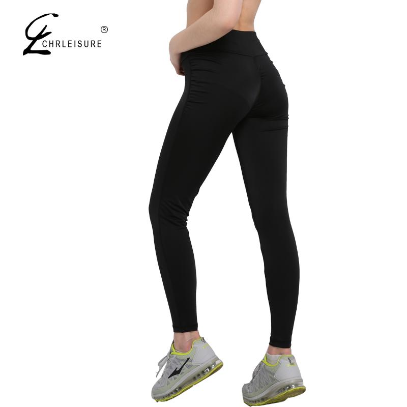 Sexy Push Up Black Leggings Women Fashion