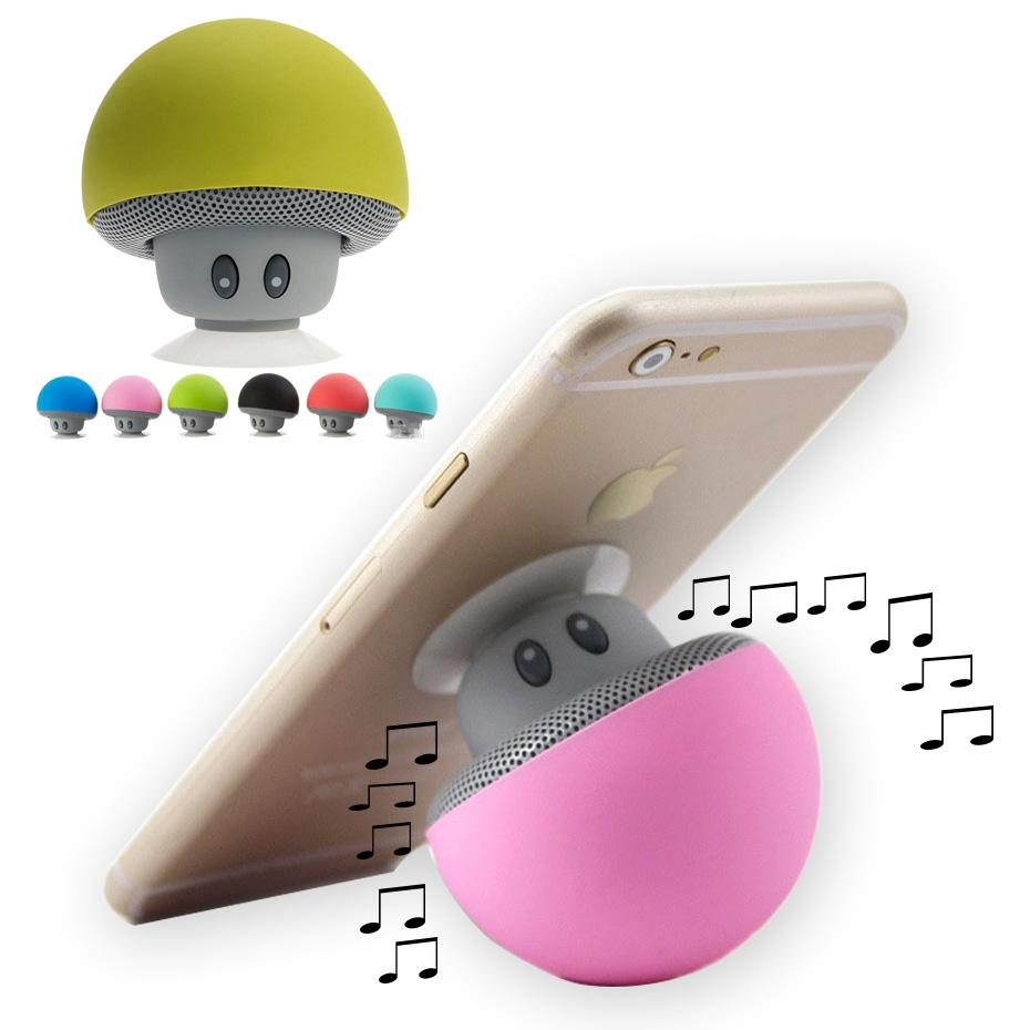 Wireless Mini Bluetooth Speaker Portable Mushroom