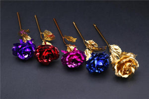 Limited Edition 24K Gold Rose