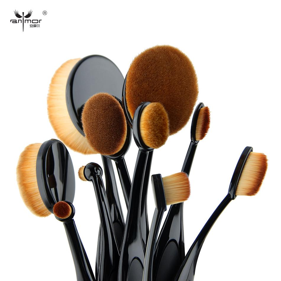 10 PC Oval Brush Set