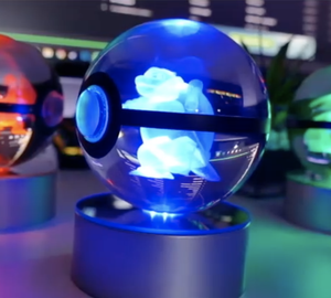 Crystal Pokeball