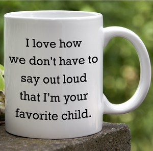 Favorite Child Father's Day Mug