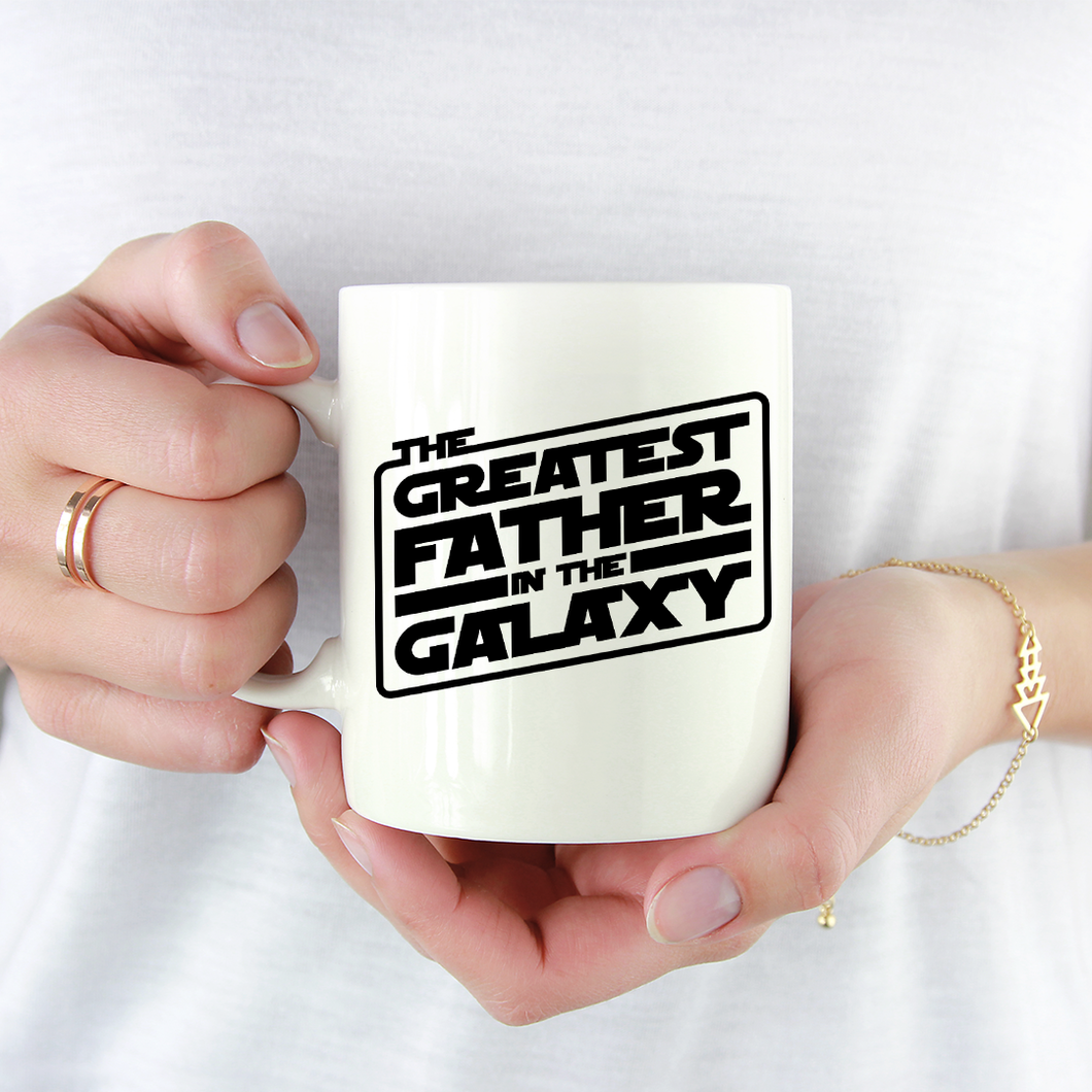 Greatest Father In The Galaxy Mug