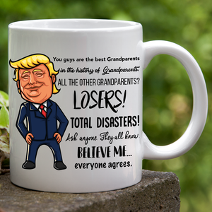 Trump Grandparents Day Mug