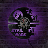 Star Wars Death Star Record Clock