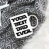 Yoda Best Dad Ever Mug