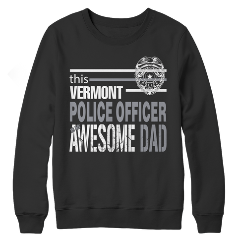 Limited Edition - This Vermont Police Officer Is An Awesome Dad