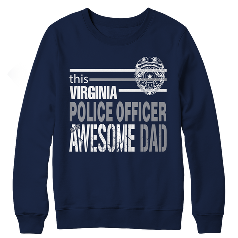 Limited Edition - This Virginia police officer is an awesome dad