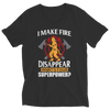 Image of I Make Fire Disappear What's Your Super Power