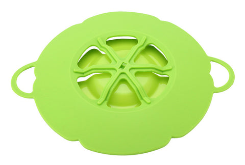 New Kitchen Gadget: The Silicone Lid Spill Stopper