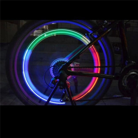 LED Flashing Tyre Wheel for Bicycles